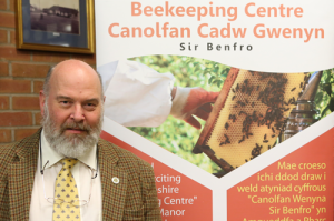 Paul Eades Apiary Manager for Pembrokeshire Beekeepers Association