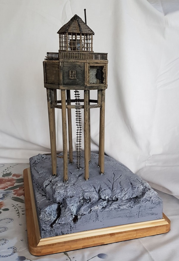 smalls lighthouse scale model photo from M Roberts 800