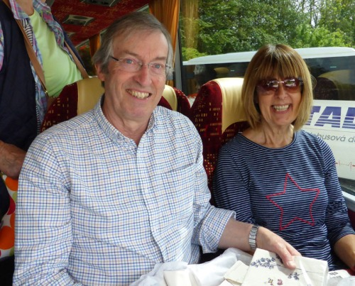 P1020625 Tour organisers Annie and Andrew photo by Roger Tomlin 800.jpg